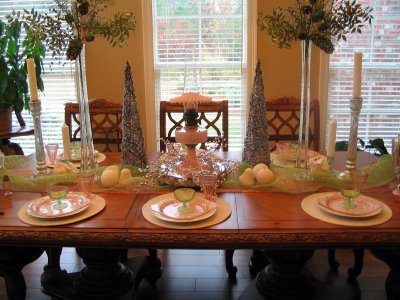 Shining How To Decorate A Dining Table 11