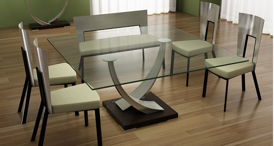 Awesome Design Ideas Square Glass Dining Table 17