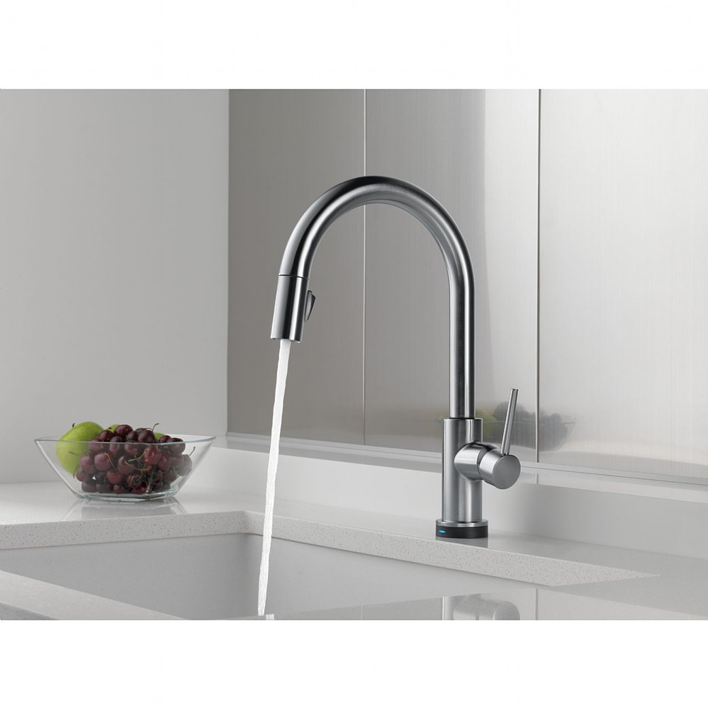 Classy Delta Touch Kitchen Faucet - Delta touchless kitchen faucet