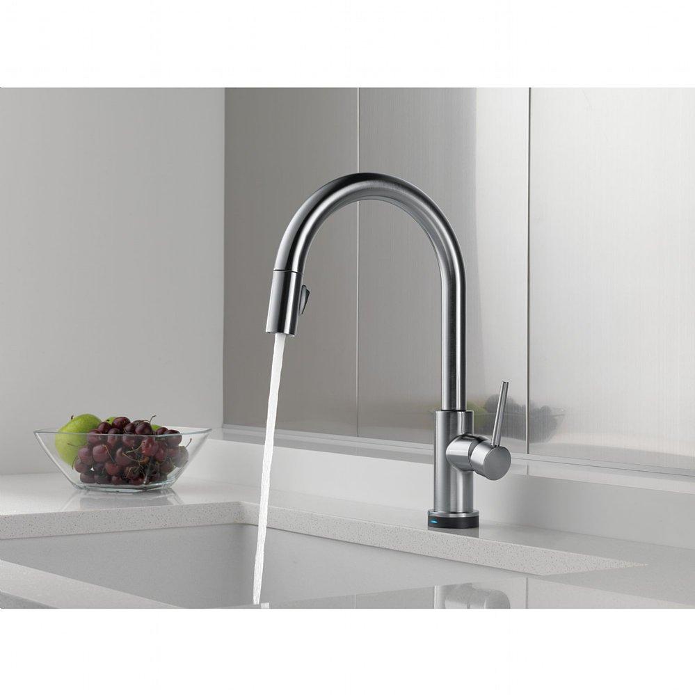 Classy Delta Touch Kitchen Faucet - Delta touchless kitchen faucet