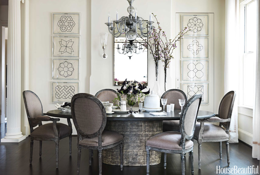 Astounding Inspiration Grey Dining Room Chairs 20