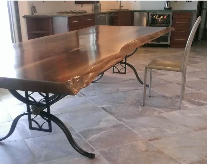 Cool Design Ideas Wrought Iron Dining Table Base 9