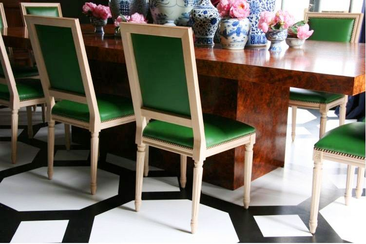 Bright And Modern Green Dining Room Chairs 10 & Crafty Ideas Green Dining Room Chairs 22