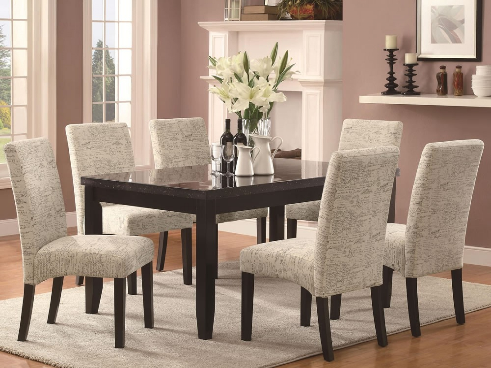 Impressive Dining Room Chairs Upholstered 3
