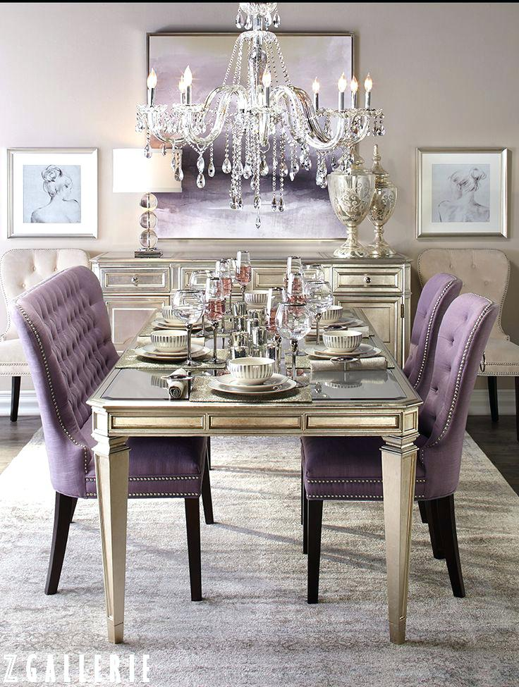 Superbe Gorgeous Design Ideas Purple Dining Room Chairs 2