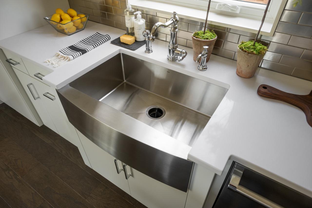 Winsome Ideas Stainless Steel Farmhouse Kitchen Sink 4