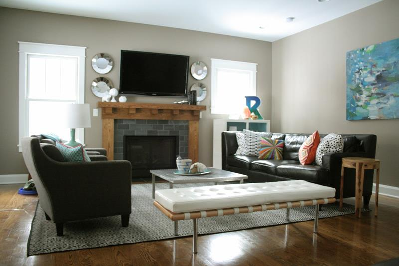 Bold Design Living Room Setup Ideas 40