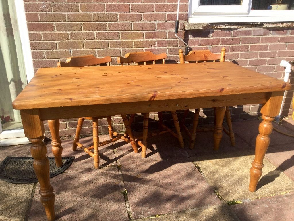 Awesome Design Pine Dining Room Table 25