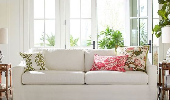 Wonderful Luxury Inspiration Slipcover Sofa Pottery Barn 4