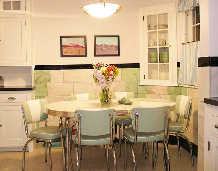 Amazing Design Retro Dining Room Sets 25