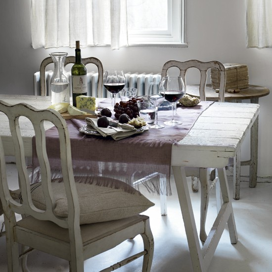 Outstanding Vintage Dining Room Table 27
