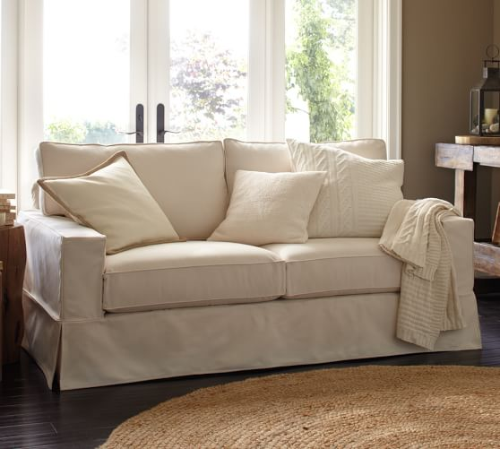 Creative Inspiration Slipcover Sofa Pottery Barn 13