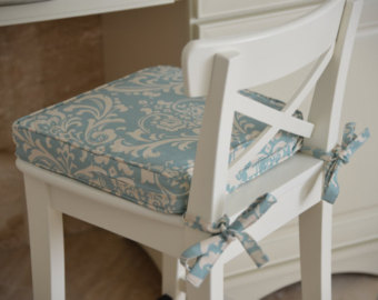Projects Idea Of Dining Chair Cushions With Ties 9