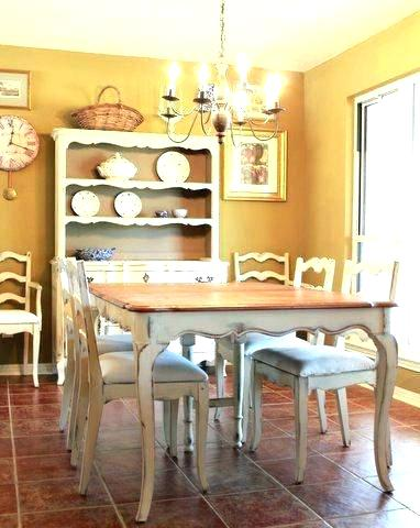 Awesome Inspiration Ideas Country French Dining Table 12