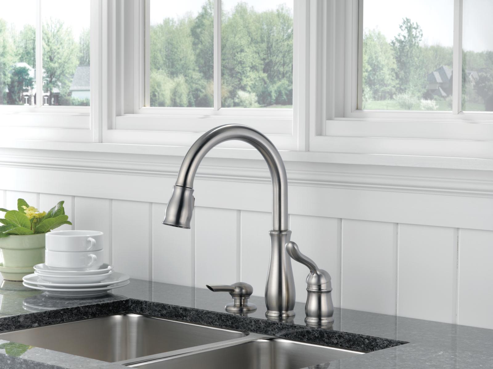 Splendid Delta Leland Kitchen Faucet 18
