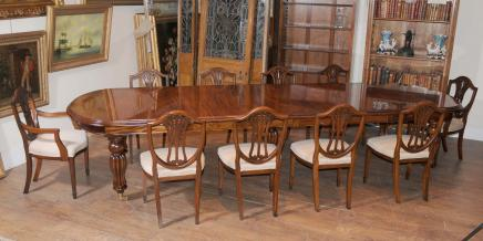 Splendid Design Antique Dining Table And Chairs 4