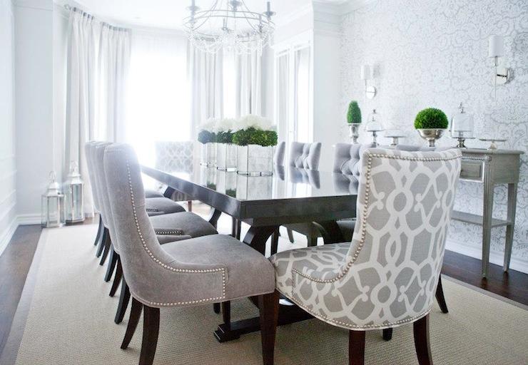Splendid Design Tufted Wingback Dining Chair 38