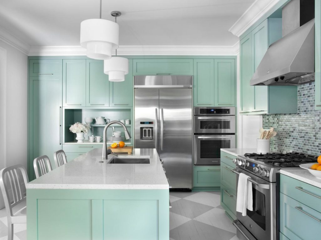 Surprising Ideas Different Color Kitchen Cabinets 45