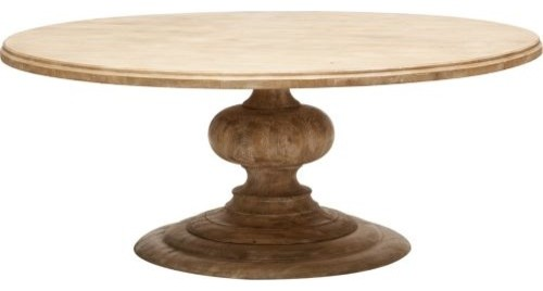 Warm Round Dining Table 60 Inch 4
