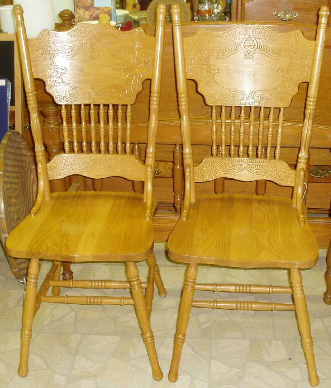 - Well Suited Ideas Antique Oak Dining Chairs 8