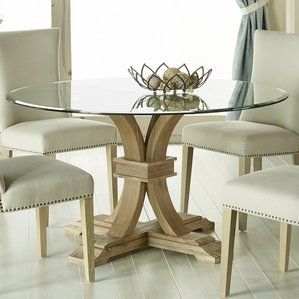 Winsome Design Round Glass Dining Table And Chairs 12