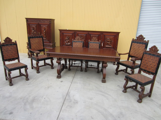 Charming Antique Dining Table And Chairs 12 - Wonderful Ideas Antique Dining Table And Chairs 16