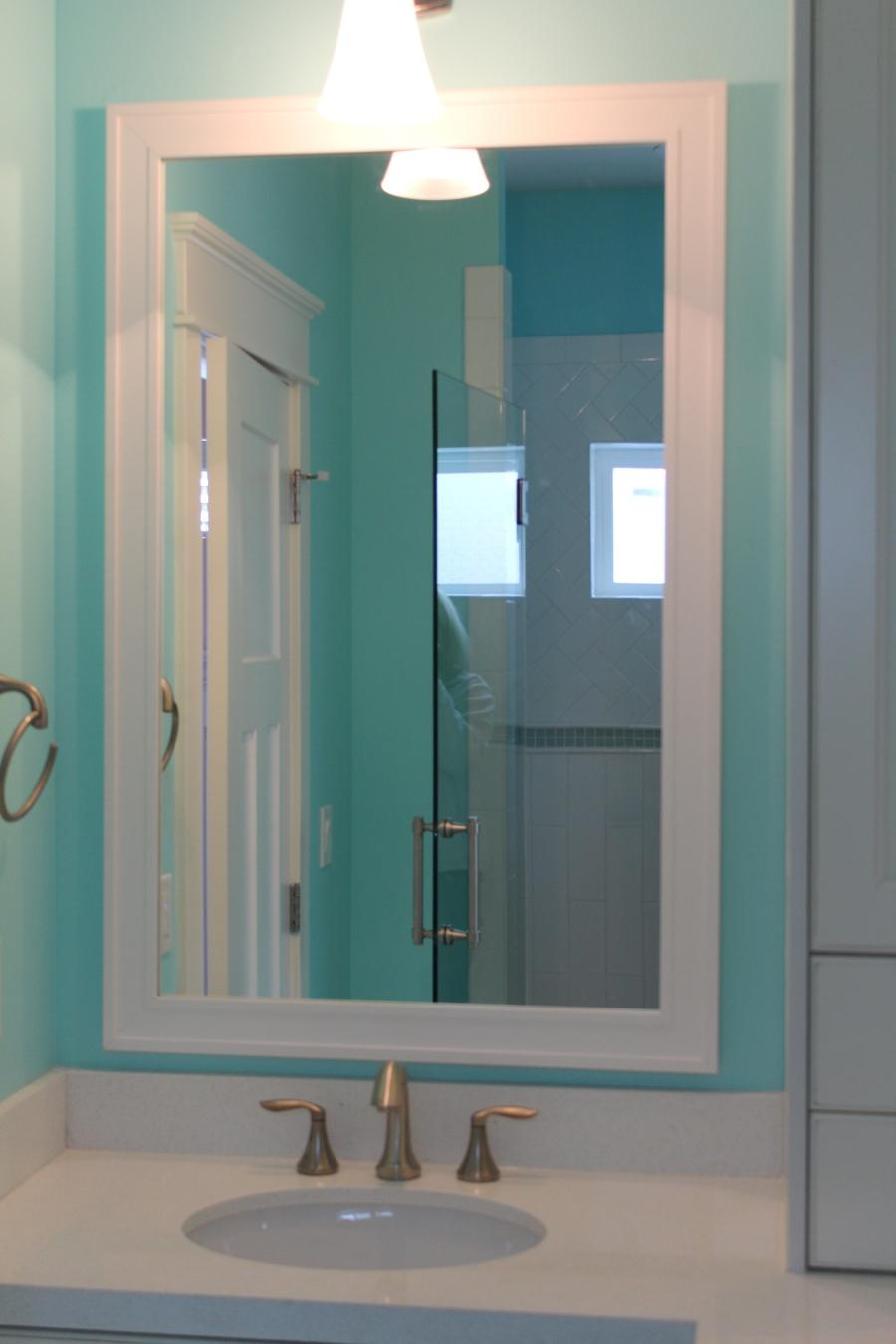 Superbe Exciting Bathroom Mirror Frame Kit 19